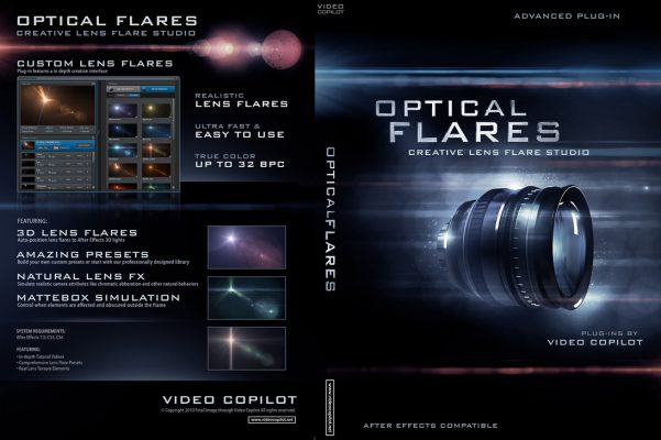 Video Copilot - Optical Flares (Complete Package)