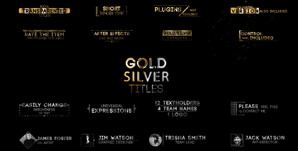 Videohive - Golden Titles V.2