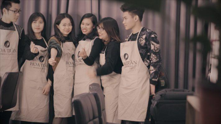Video quảng cáo makeup Hoa Trần