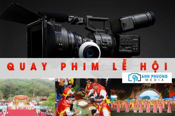 Quay phim lễ hội tại Thanh Hóa