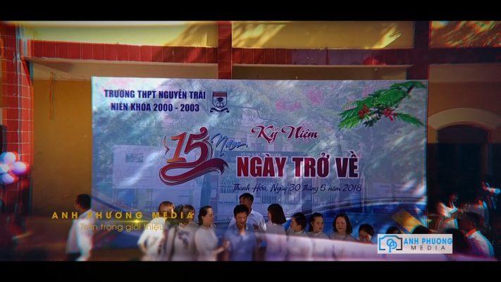 Quay phim hội khóa tại Thanh Hóa