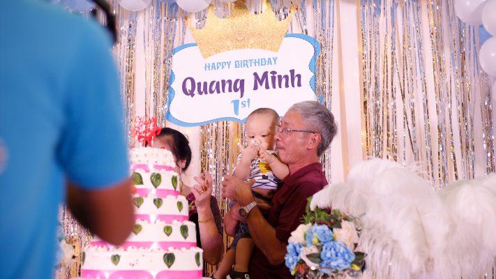Sinh nhật bé Nguyễn Quang Minh