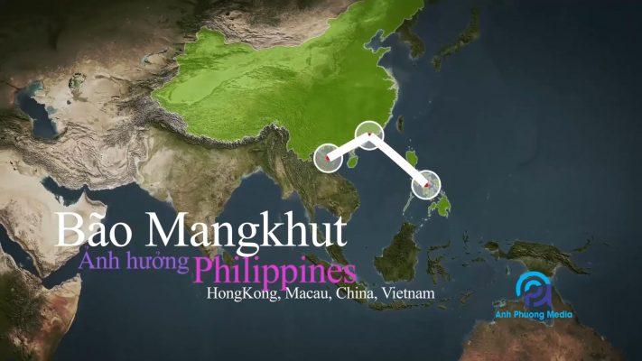 Cơn bão MANGKHUT STORM - Video animation graphic cho Uspeak Vietnam được thực hiện bởi Anh Phương Media