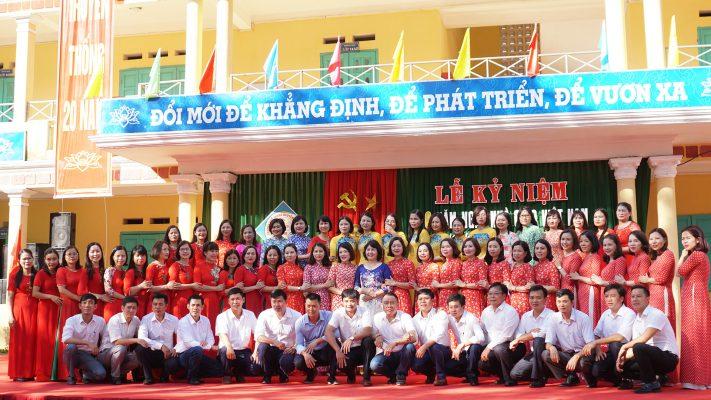 Kỷ niệm 20 năm thành lập trường Nguyễn Mộng Tuân