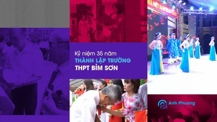 Kỷ niệm 35 năm thành lập trường THPT Bỉm Sơn