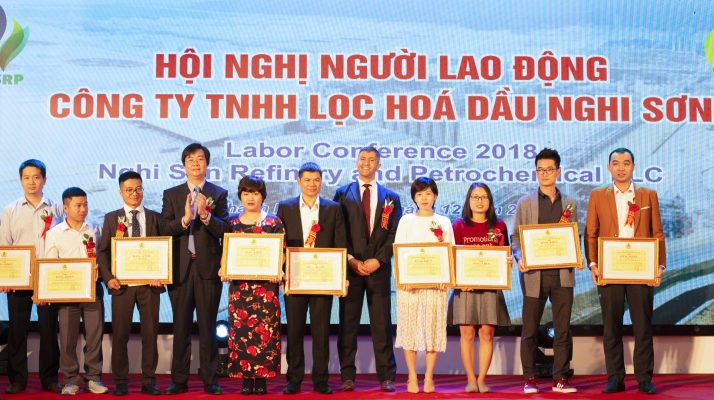 Hội nghị người lao động công ty TNHH lọc hóa dầu nghi sơn
