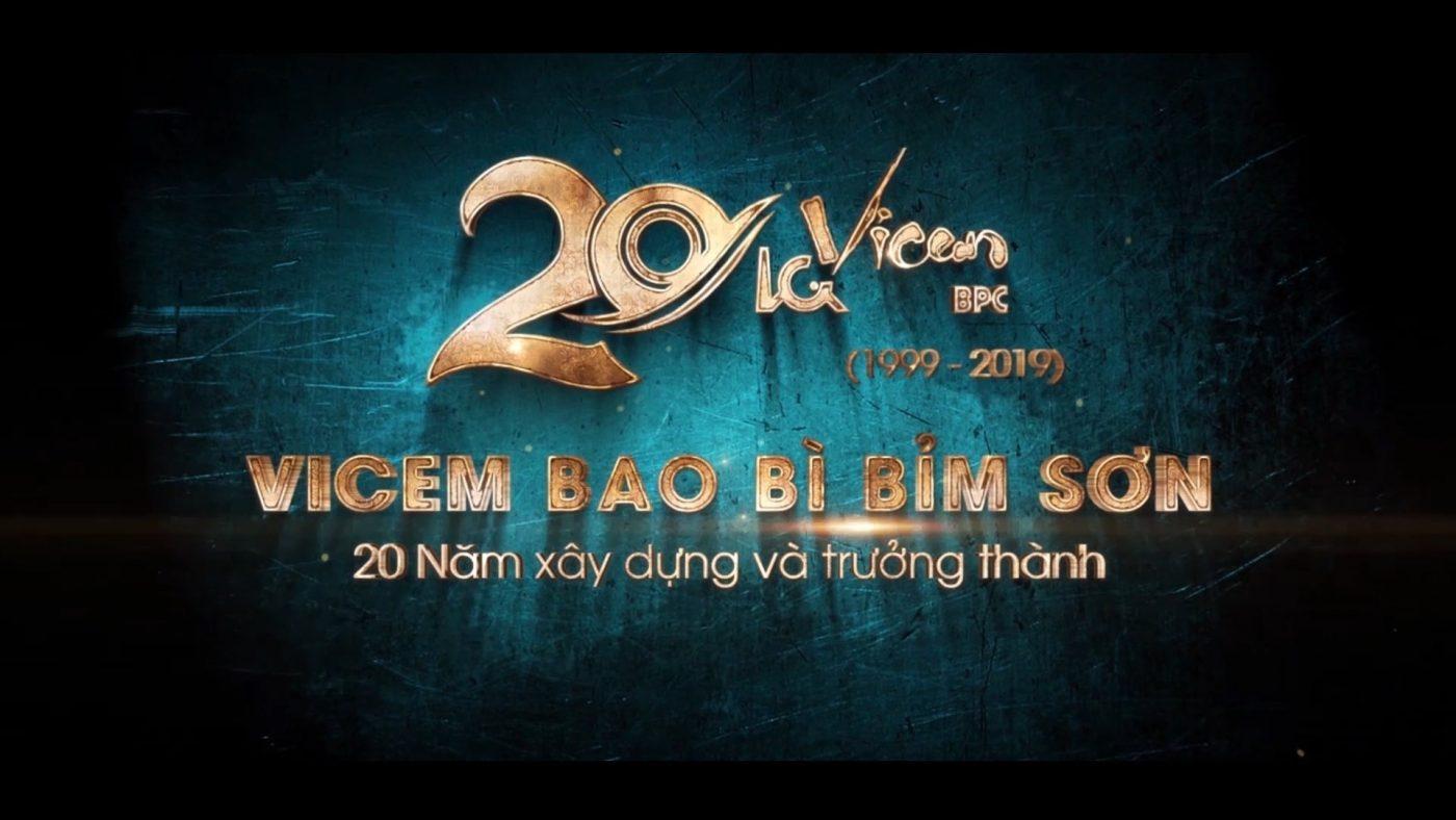 Công ty CP Vicem Bao bì Bỉm Sơn 20 năm xây dựng và trưởng thành (Anh Phương Media)