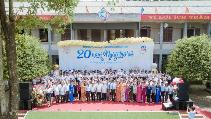 Hội Khóa 20 năm ngày trở về K16 trường THPT Hoàng Lệ Kha 3