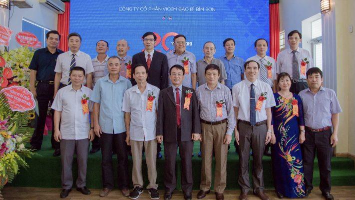 Kỷ niệm 20 năm thành lập Công ty CP Vicem Bao bì Bỉm Sơn
