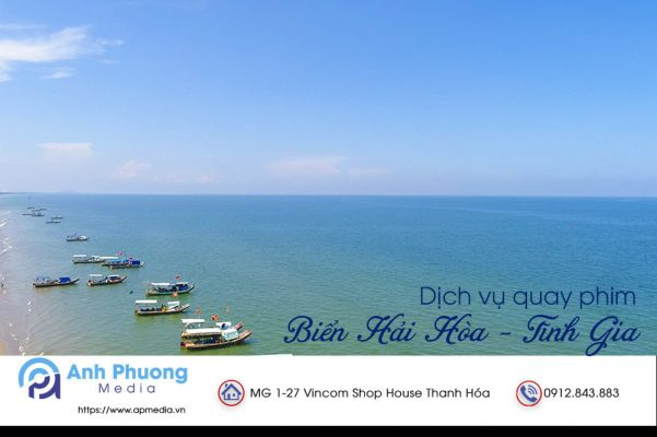 Dịch vụ quay phim tại biển Hải Hòa, Tĩnh Gia, Thanh Hóa