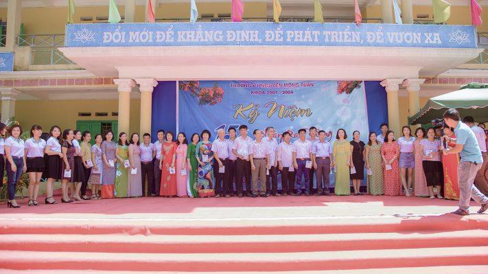 Hội khóa 15 năm trường phổ thông Nguyễn Mộng Tuân khóa (2001 - 2004)
