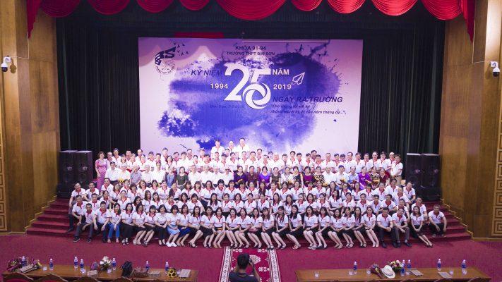 Kỷ niệm 25 năm ngày ra trường khóa (1991 - 1994) trường THPT Bỉm Sơn