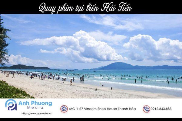 Quay phim tại biển Hải Tiến Thanh Hóa