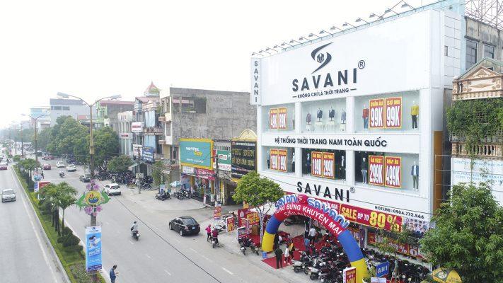 Khai trương Store thứ 16 Savani 340 Trần Phú, thành phố Thanh Hóa