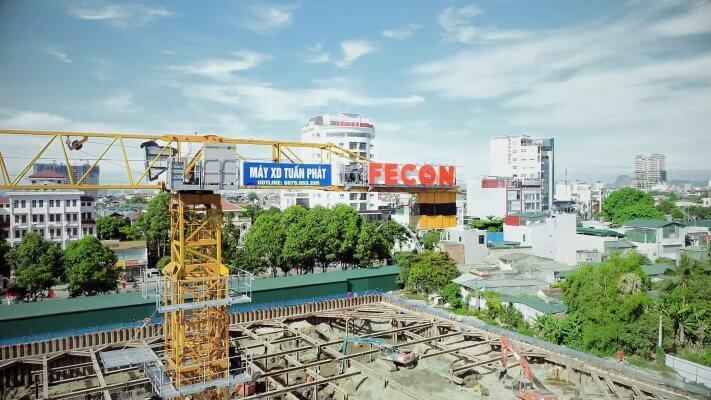Fecon thi công toà nhà dịch vụ tổng hợp Đông Hương tp Thanh Hoá