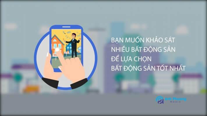 Dịch vụ làm video motion graphics cho dịch vụ ký gửi bất động sản