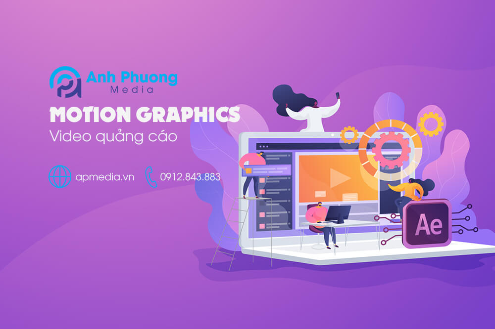 Video quảng cáo motion graphics