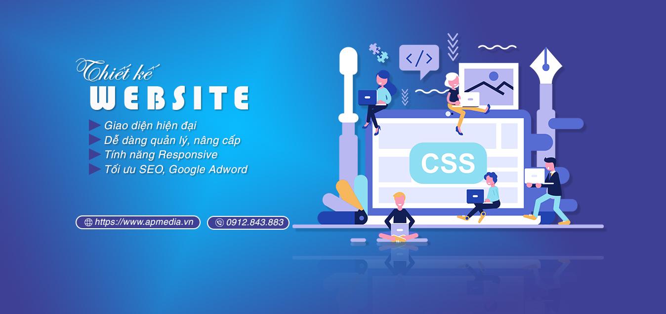 Thiết kế website anh phương media