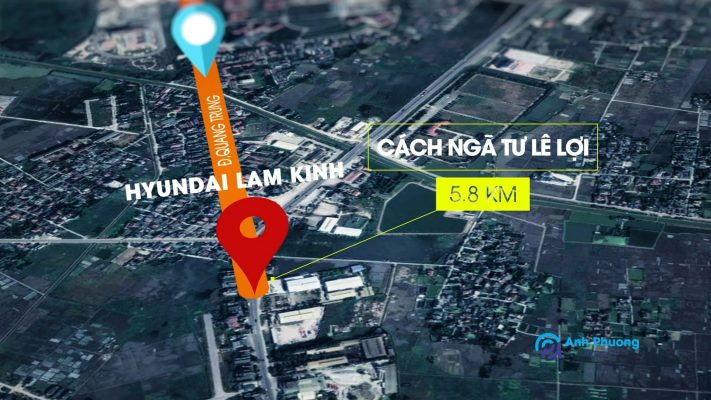 Quay phim bất động sản tại Thanh Hóa Map Hyundai Lam Kinh